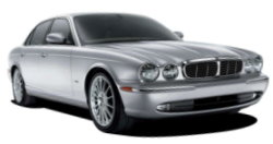 Chauffeur driven cars in Worcester area, including the long wheel based version of the new Jaguar XJ