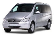 Chauffeur driven Mercedes Viano people carrier - Up to 7 passengers in comfort, from Cars for Stars (Worcester) - Airport Transfer Services